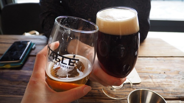 Two craft beer classes, cheers!